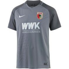 Nike Fußballtrikot »FC Augsburg 17/18 Ausweich« für 49,95€. Semi-transparent, Drifit-Technologie, Raglanärmel, Mesh-Einsatz im Rücken bei OTTO