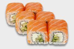 Philadelphia Roll Recipe ~ Food Network Recipes #seafood #recipes #food