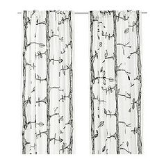 EIVOR Curtains, 1 pair - IKEA