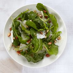 Chef Way For this crunchy, nutty salad, Lidia Bastianich likes to use dandelion greens, which aren't always easy to find.  Easy Way Arugula stands i...