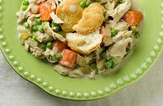 Slow Cooker Chicken & Biscuits