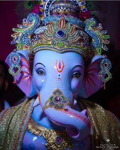 Make this Ganesha Chathurthi 2020 special with rituals and ceremonies. Lord Ganesha is a powerful god that removes Hurdles, grants Wealth, Knowledge & Wisdom. Jai Ganesh, Ganesh Lord, Ganesh Statue, Shree Ganesh, Ganesha Art, Krishna Hindu, Durga, Ganesh Chaturthi Messages, Ganesh Chaturthi Status