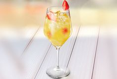 Wild Ginger: Muddle ginger, orange & Pineapple 1oz. Capt Pineapple 1oz. Monkey Bay Splash: sour, ginger ale Serve in wine glass