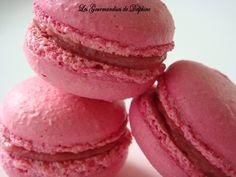 Caramel Chocolat: Macarons framboise