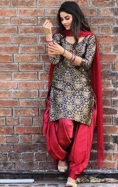 Gur #PunjabiLadiesSuits