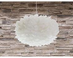 Lampa sufitowa wraz z oprawą - biała - FOG