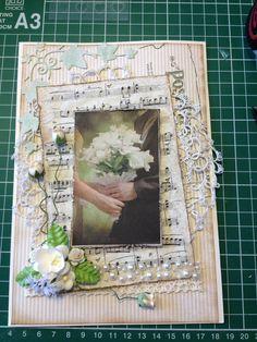 Wedding card - Bryllupstelegram