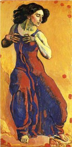 Woman in Ecstasy - Ferdinand Hodler