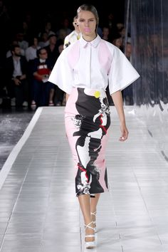 """Presenting the """"preservation of the elegant woman,"""" Prabal Gurung delivers an exquisite S/S 2014 collection: http://lcknyc.com/13TQVvq"""