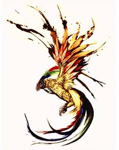 Phoenix tattoo project recolor