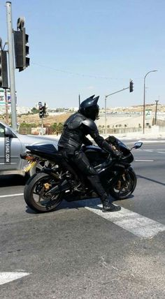 Just spotted Batman in my city