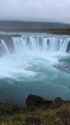 Goðafoss waterfall along the Ring Road drive in Iceland