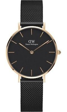 Parts and Accessories 51021: Daniel Wellington Dw00100201 Petite Black Stainless Steel 32 Mm Black Dial Watch -> BUY IT NOW ONLY: $89.99 on eBay!