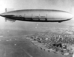 La construction, la vie et la mort de deux dirigeables porte-avions