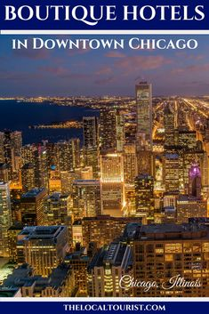 Find intimate accommodations with these boutique hotels on the Magnificent Mile in downtown Chicago