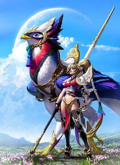 Bird Rider by =MichelleHoefener on deviantART