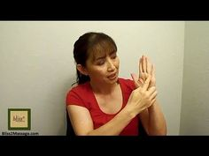 Acupressure points for constipation - Massage Monday 12-2-13 - YouTube