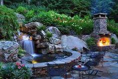 backyard fountains - Google Search