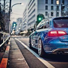 The Audi S4 Avant.