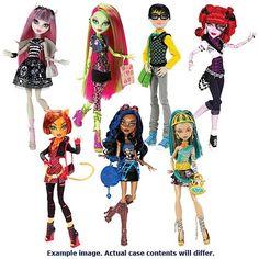 Image detail for -Monster High Doll Assortment Wave 7 Case