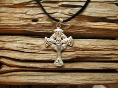 Hey, I found this really awesome Etsy listing at https://www.etsy.com/listing/90365921/celtic-cross-with-triquetras-sterling