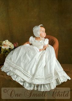 Jessa Silk Christening Gowns