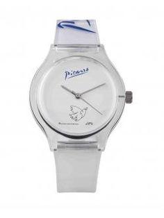 ¡No llegues tarde nunca más con la ayuda de este reloj ilustrado con la paloma de Picasso que encontrarás en la #LibreríaMPM!