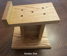 Custom Make Solid Oak Speaker Stands - Manuel Perez -