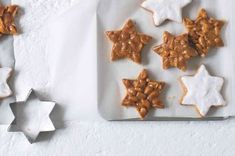 Christmas Inspiration, Christmas Cookies, Cookie Cutters, Waffles, Yummy Food, Breakfast, Christmas Crack, Delicious Food, Christmas Biscuits