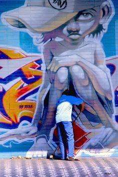 Street art | Mural by Zulu