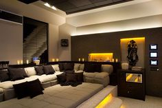 home theater room decor