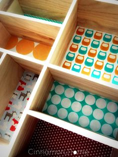 5. after gluing - Cinnamon Home DIY