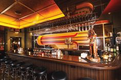Stayin Alive: The bar draws inspiration from some of Harlem's finest lounges. Photo by Daniel Krieger