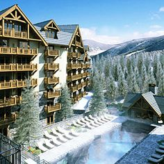 Top 10 ski trip hotels | Four Seasons Resort Vail, Vail, CO | Sunset.com