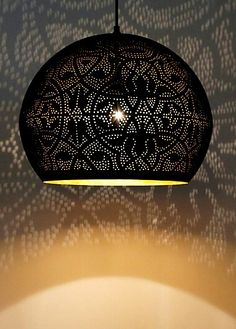 oosterse lamp, mooi lichteffect!