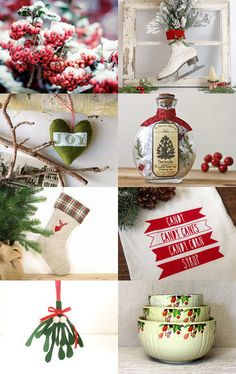 Holiday Spirit by yvette on Etsy--Pinned with TreasuryPin.com