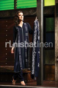 Nishat Linen Volume 1 Spring Party Wear Collection 2014 6 Nishat Linen Volume 1 Spring Party Wear Collection 2014