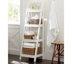 Floor Standing Ladder Potterybarn