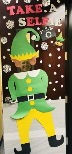 fun christmas door decorating contest
