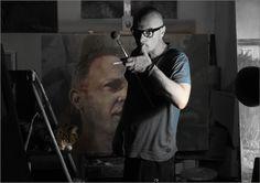 Holger Theunert at work Surrealism, Portrait, Fictional Characters, Art, Art Background, Headshot Photography, Kunst, Portrait Paintings, Performing Arts