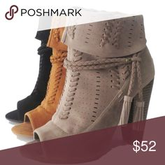 Women Booties 👢✨ Comment closet name to be notified when in stock! Booties for Women. Brand new. Avail Sizes listed below cierramotley Shoes Ankle Boots & Booties
