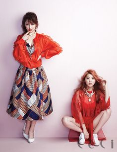 4Minute - Ceci Magazine April Issue '14 #4minute #ji hyun #so hyun