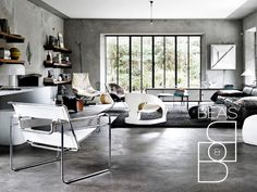 Concrete Floor colour and texture
