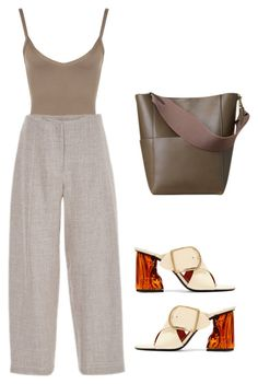 """""""Untitled #18"""" by brontelindley ❤ liked on Polyvore featuring Acne Studios, WearAll and ADAM"""