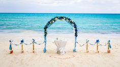 #wedding_arch in Saona island in Dominican Republic. Photo by Nik Vacuum. Organization by www.wedding-caribian.com