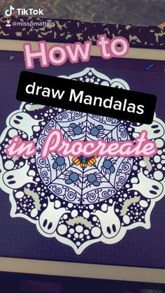 Madala art tutorial