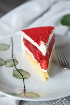 Strawberry Vanilla Cake - Strawberry by Cyril Lignac, Strawberry Vanilla Cake, International Recipes, Vegetable Recipes, Chocolate Cake, Cake Recipes, Cheesecake, Good Food, Food And Drink, Cooking Recipes