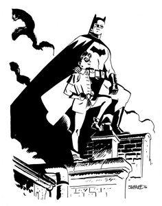 Batman & Robin by Chris Samnee