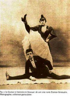 Jules Renaudin dit « Valentin le Désossé » et la Goulue au Moulin Rouge Paris 1843 – 1907