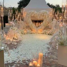 Wedding Stage Design, Outdoor Wedding Decorations, Engagement Stage Decoration, Wedding Reception Ideas, Elegant Party Decorations, Wedding Backdrop Design, Magical Wedding, Elegant Wedding, Dream Wedding